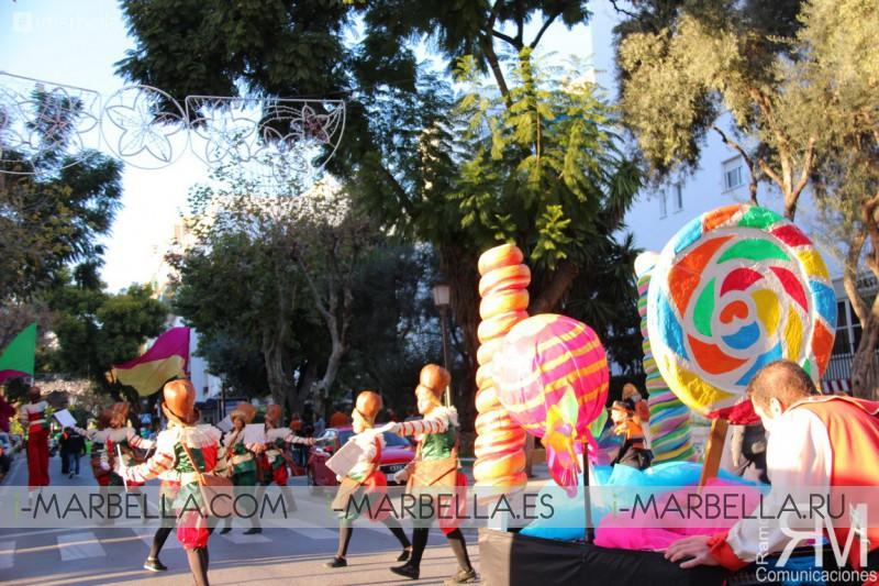 Carteros Reales recorren las calles de San Pedro de Alcántara
