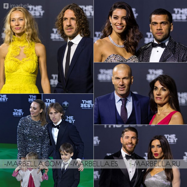 FIFA´s gala celebration in Zurich presented by Eva Longoria