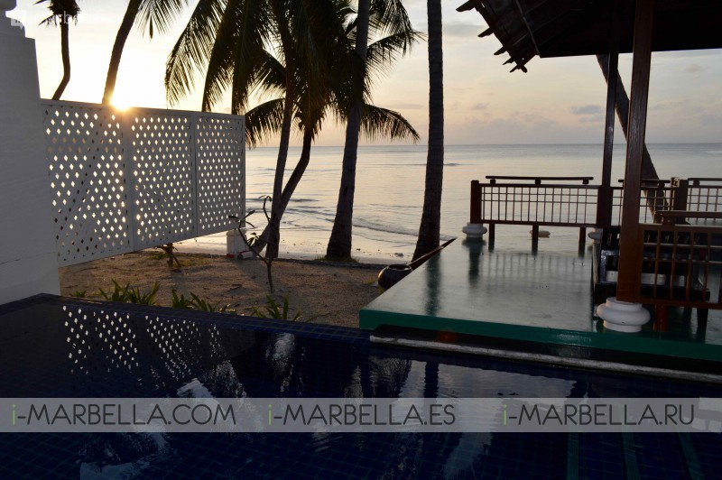 Annika's Blog: most beautiful sunrise in my life from the bed at Koh Samui 2016