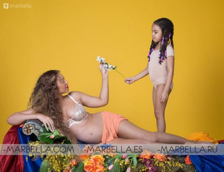 Beyoncé's pregnancy announcement GALLERY