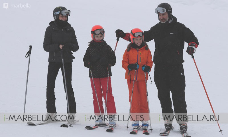 The Spanish Royal Family goes skiing this February 2017