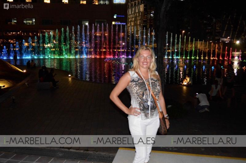 Annika Urm Blog: Kuala Lumpur highest tower and fountain show