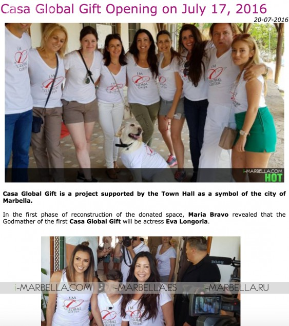i-Marbella supported over 70 Charity foundations thanks to you
