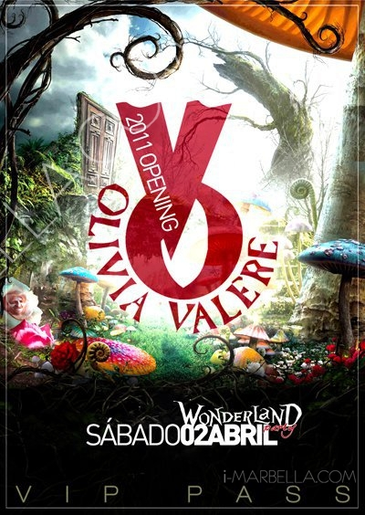 OLIVIA VALERE Opening
