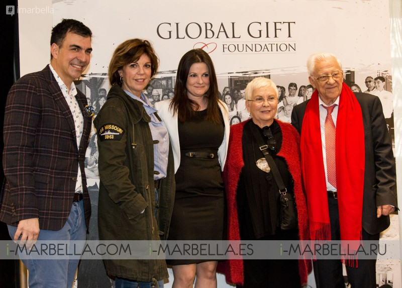 Maria Bravo announces the 2nd Global Gift Gala in Madrid