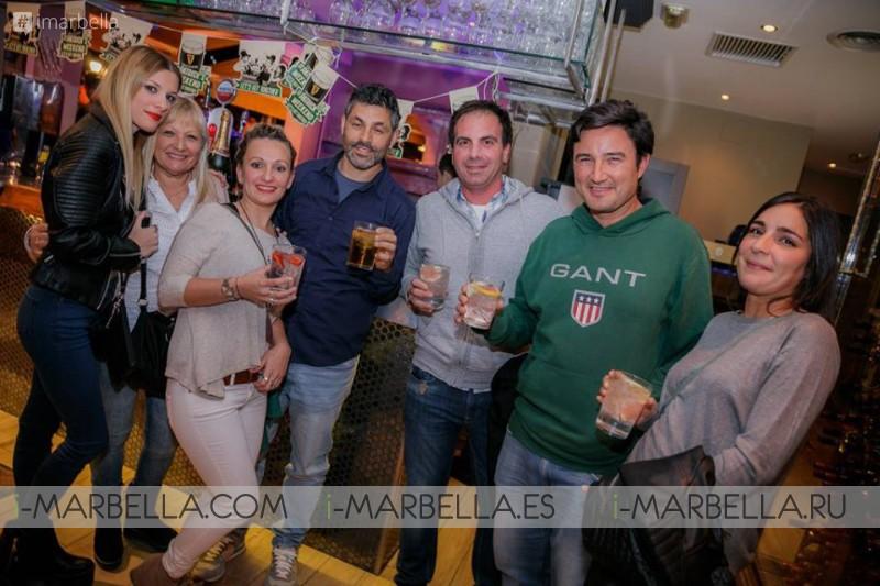 Saint Patrick's at la Sala Puerto Banus 2017