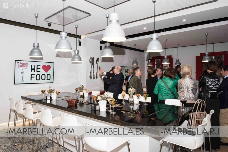 FOOD ROOM Cooking & Tasting School Opening Gallery March 2017