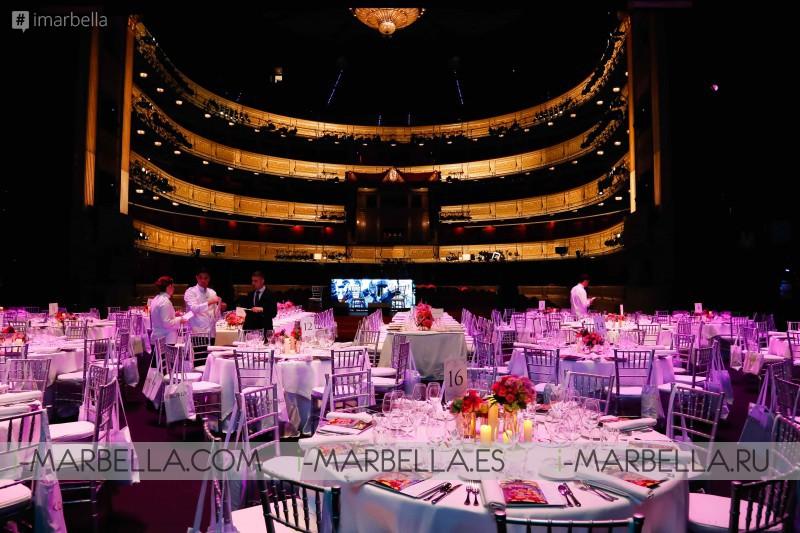 Global Gifta Gala Madrid 2017 inside with Eva Longoria! GALLERY