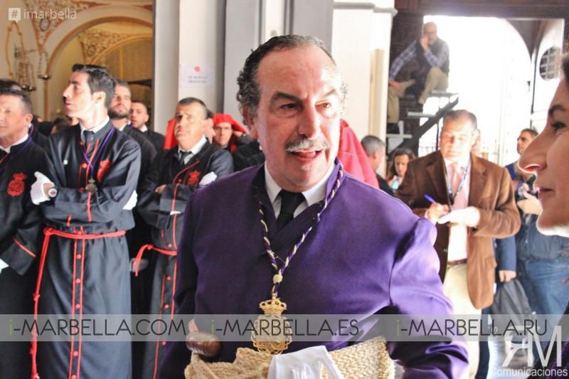 Ministra de Defensa y Ministro de Justicia en Miércoles Santo con la Cofradía Fusionadas 2017