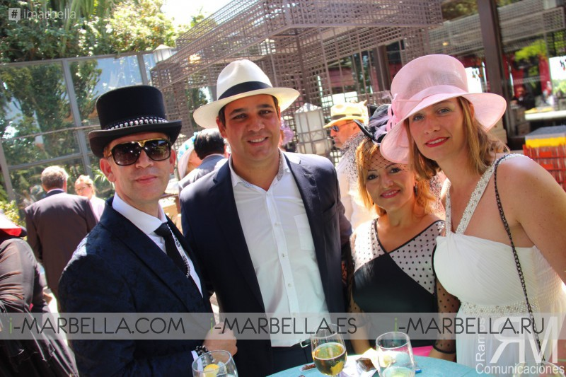 Glamorous Kristina Szekely's Easter hat party 2017 Vol.1 Gallery