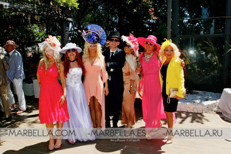 Glamorous Kristina Szekely's Easter hat party 2017 Vol.2 Gallery