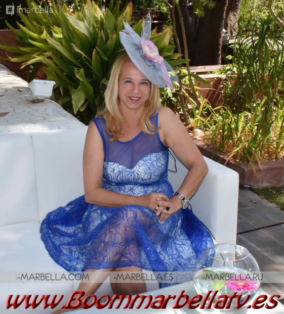 Glamorous Kristina Szekely's Easter hat party 2017 Vol.3 Gallery