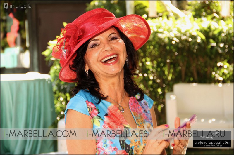 Glamorous Kristina Szekely's Easter hat party 2017 Vol.4 Gallery