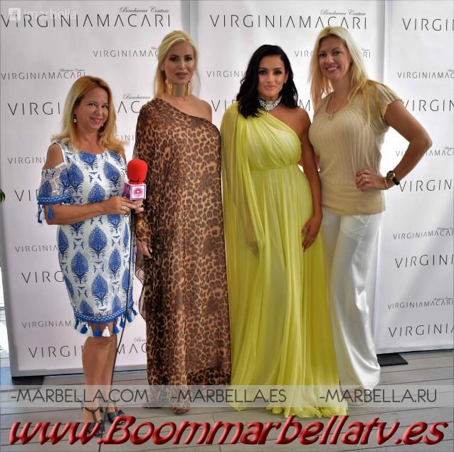Virginia Macari fashion show @ Puente Romano Beach Resort and Spa 2017 Gallery, Video