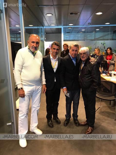 Marbella Council promotes Marbella in the Mutua Madrid Open 2017