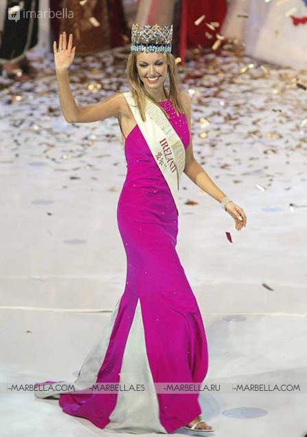 Meet Miss world 2003 Rosanna Davidson and now best-selling author!
