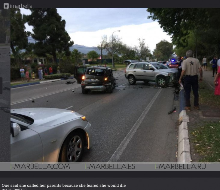 Drunk driver runs over six people in Puerto Banús 28.05.2017 UPDATED! 4 VIDEOS