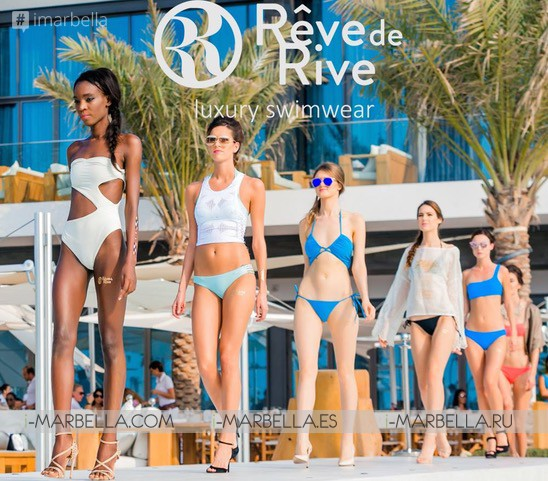 Rêve de Rive Swimwear fashion show this 17th June @ Besaya Beach