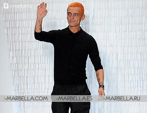 Last goodbye to Malaga's designer David Delfín