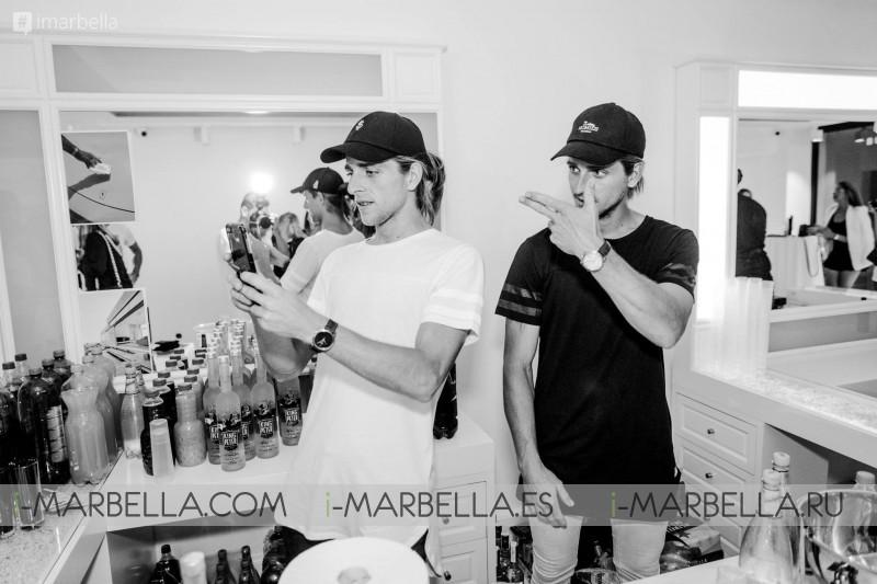 Homies Marbella store opening at Puerto Banus Gallery June 2017