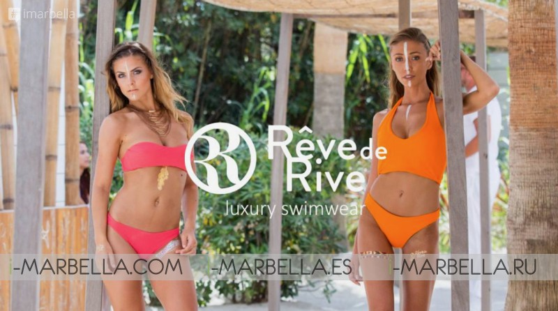 Rêve de Rive Swimwear brand on 17th June at Besaya Beach Marbella 2017