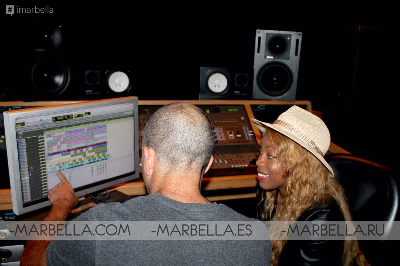 Our Famous Yanela Brooks recording new girlpower album in Cuba and USA