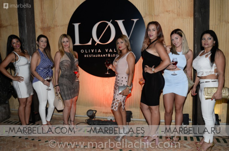 Løv Olivia Valere Marbella Grand Opening Party with Gianluca Vacchi June 2017 Gallery