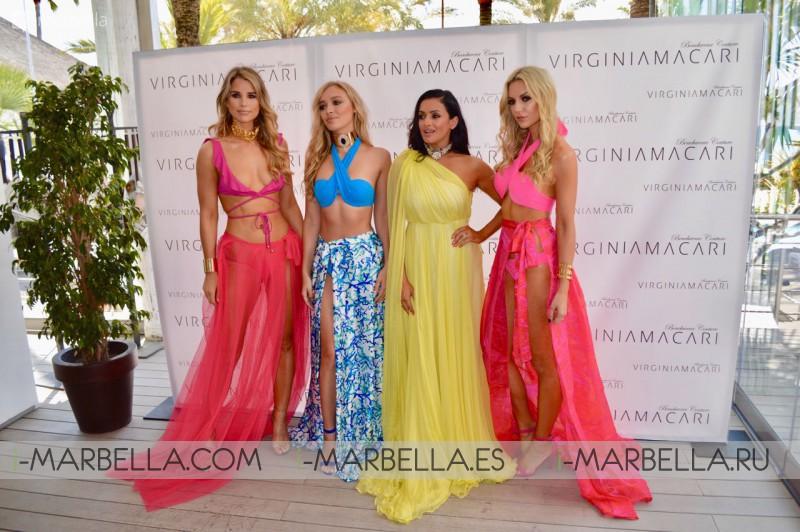 Virginia Macari Luxury Beachwear 2018 collection to be unveiled at Pasarela Larios Malaga Fashion Week in September 2017