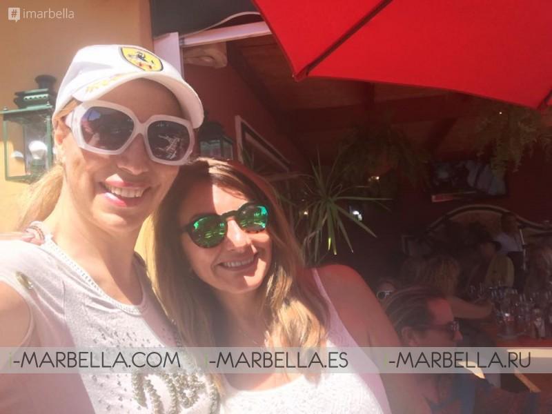 Baroness Shulamit von Bismarck celebrates her birthday at Manolo Santana Club July 2017