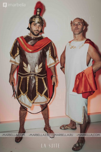 The Great Roman Empire Party @ La Suite Club, Marbella, 30th of June 2017 Gallery