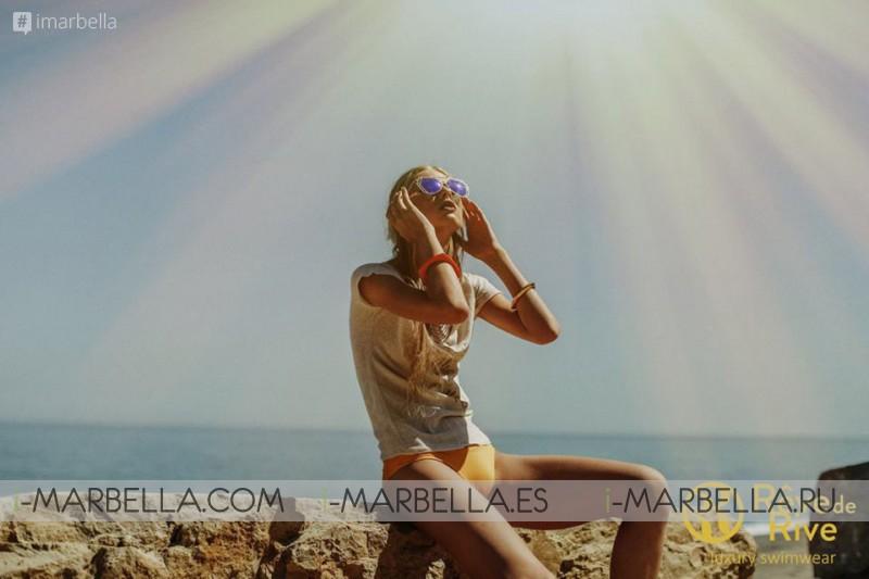 Rêve de Rive Swimwear photo shooting in Marbella at Besaya Beach 2017