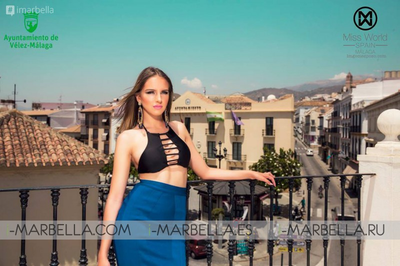 Miss World arrived to Malaga, Spain, July 2017