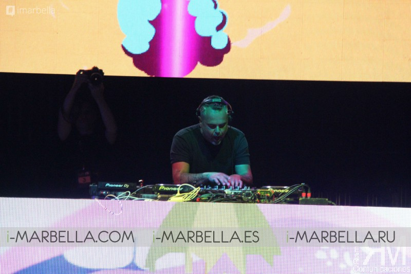 Juan Magán in Starlite Sessions, Marbella, July 2017