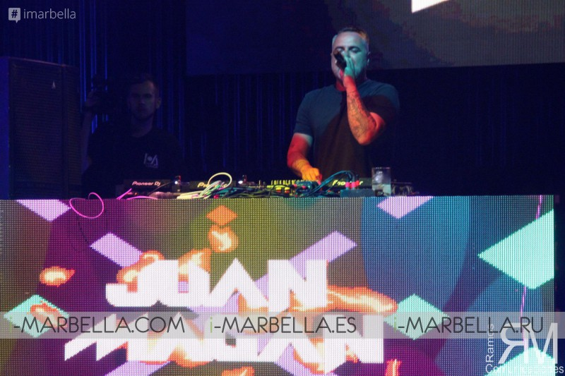 Juan Magán in Starlite Sessions, Marbella, July 2017