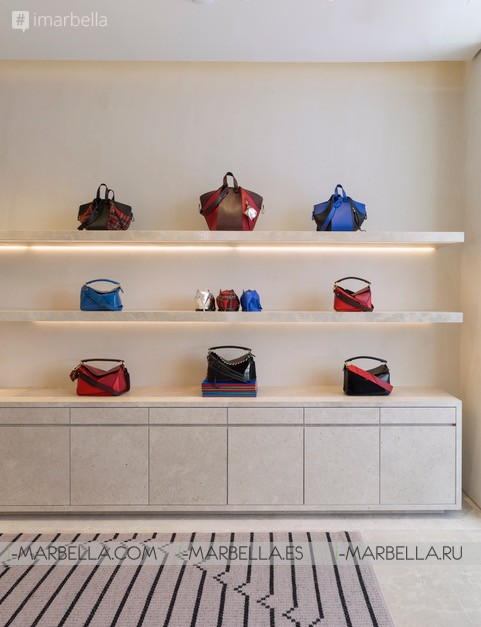 LOEWE opens a new store in the exclusive Puerto Banús, Marbella, July 22, 2017