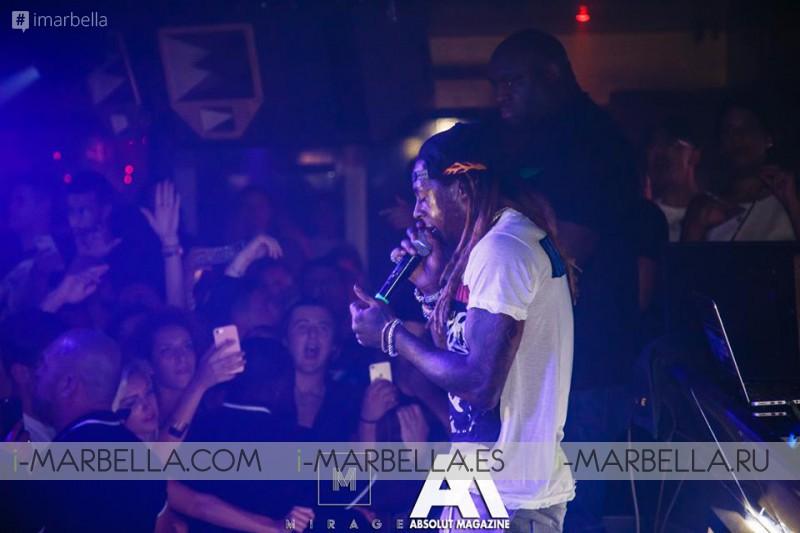 Lil Wayne @ Marbella, August 2017, Gallery