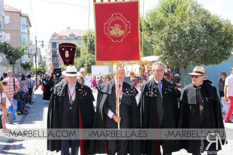 LXV Capítulo Serenísimo del Albariño en Cambados - Agosto 2017