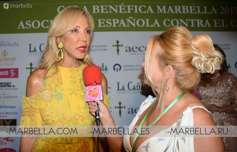 XXXIV Gala Dinner Against Cancer @ Marbella, August 2017