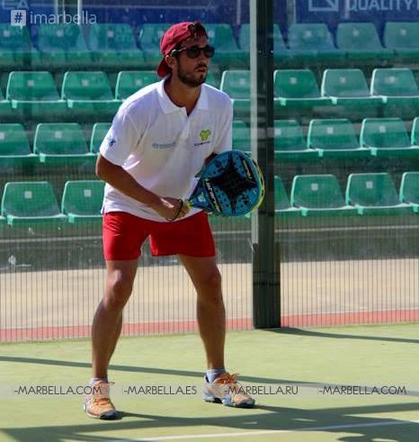 Finaliza el III Torneo Benéfico de Pádel a favor de Infancia sin Fronteras, Marbella, agosto 2017