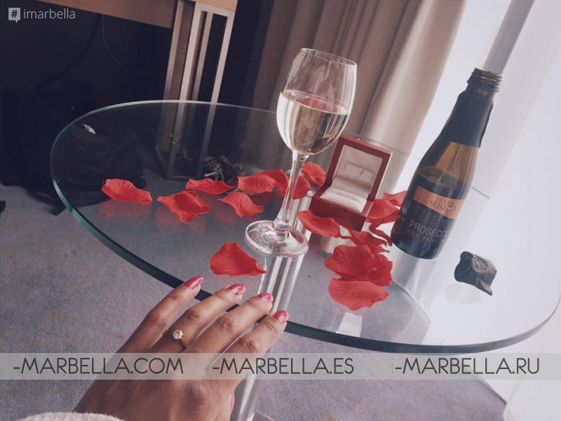 Marbella Fitness power couple are engaged, Peet Rothwell with Tamaya Adams