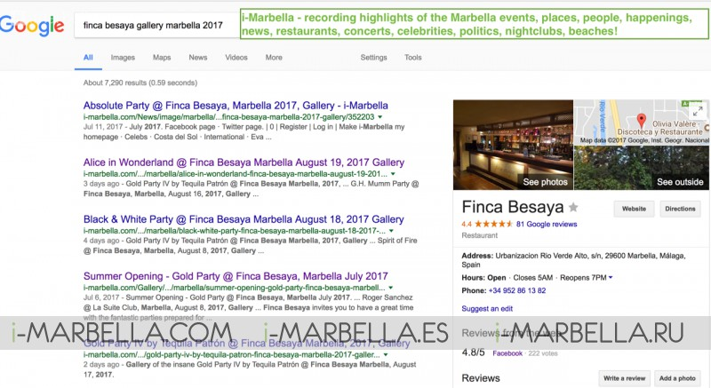 How i-marbella helps your business to be successful, the Finca Besaya example!