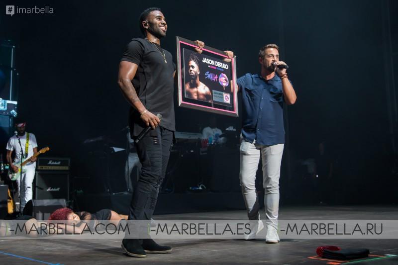 Jason Derulo en Starlite Marbella - Agosto 2017