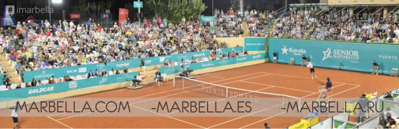 Senior Masters Cup 2017 arrives in Puente Romano, Marbella, September 2017