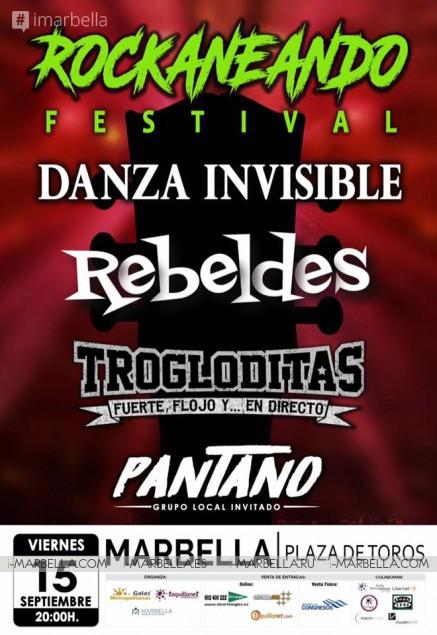 Festival Rockaneando llega a Marbella en Septiembre 2017