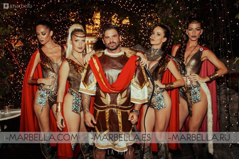 The Great Roman Empire Party @ La Suite August 31, 2017, Marbella Gallery