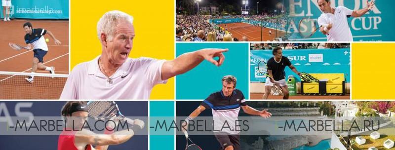 Senior Masters Cup @ Club de Tenis Puente Romano September 28-30, 2017