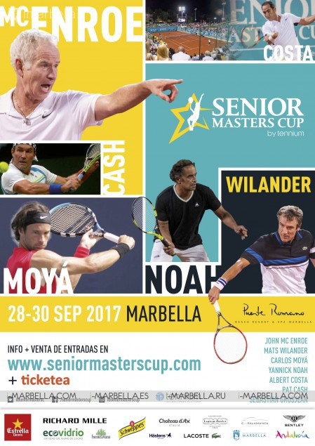 Press Conference for the Senior Masters Cup @ Club de Tenis Puente Romano, September 28-30, 2017