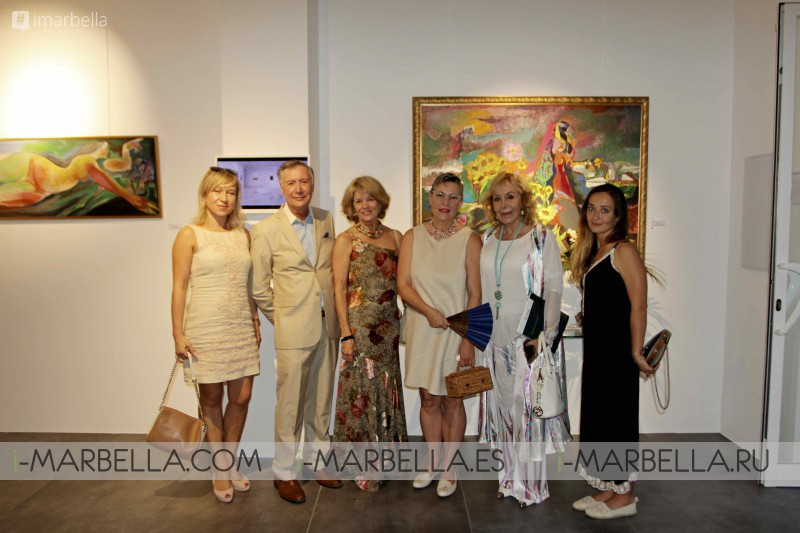 Eugenio Padroni Exhibition at EsArte Gallery Marbella, September 2017