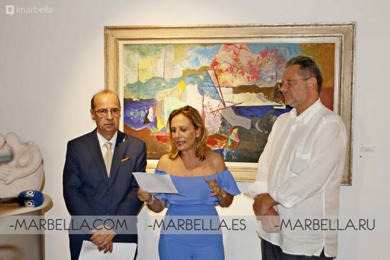 Eugenio Padroni Exhibition at EsArte Gallery Marbella, September 2017