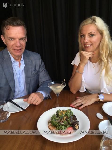 Exclusive! Annika Urm meets world-known Chef Matsuhisa Nobu